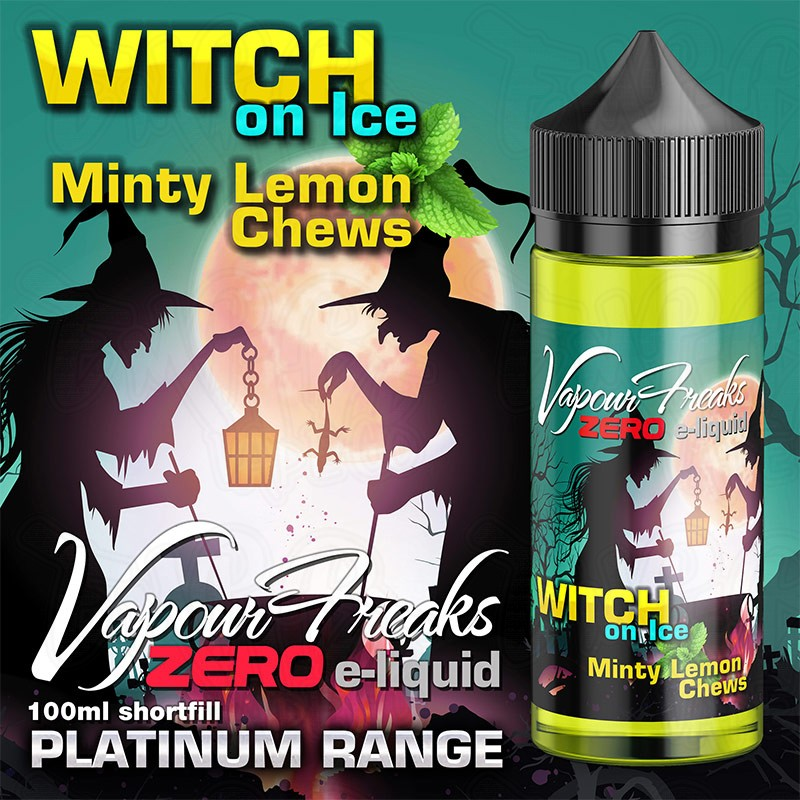 Vapour Freaks Platinum Range - Witch On Ice - 100ml - 0mg