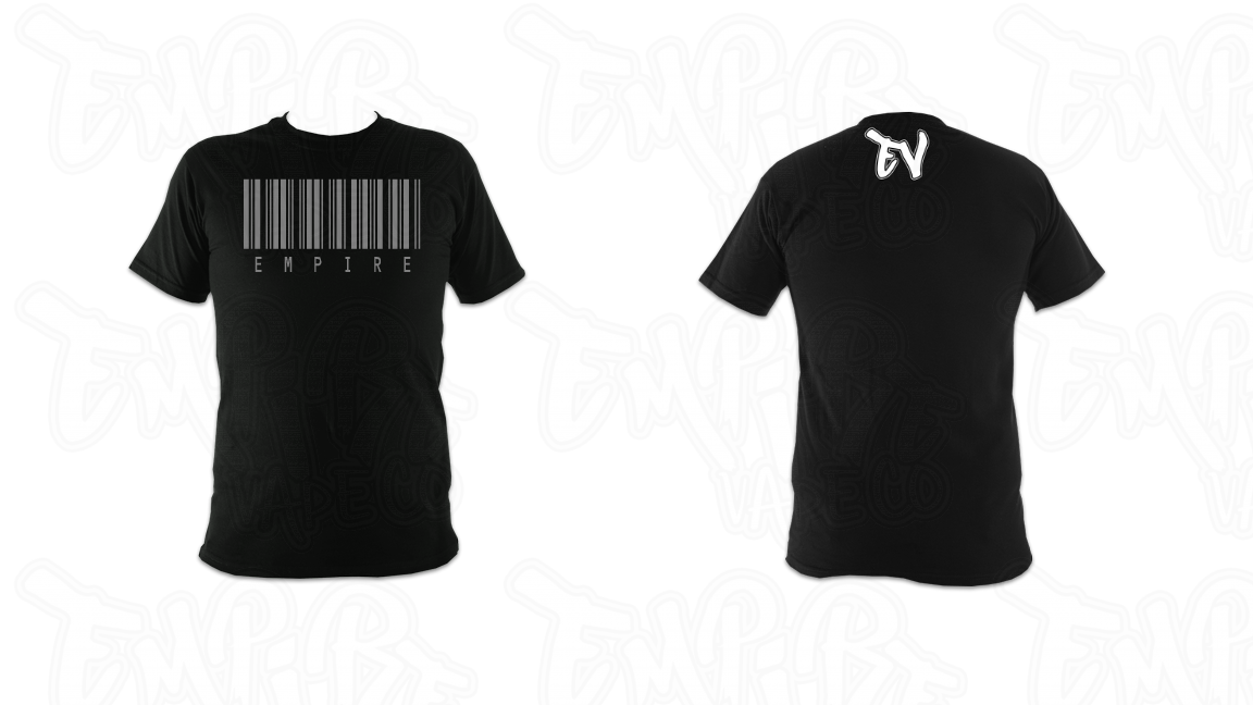 Empire Barcode Design T-Shirt 2019
