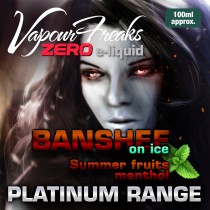 Vapour Freaks Platinum Range - Banshee On Ice - 100ml - 0mg