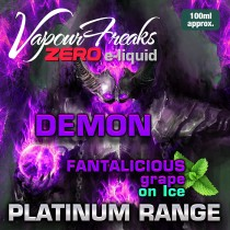 Vapour Freaks Platinum Range - Demon on Ice - 100ml - 0mg