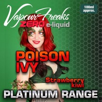Vapour Freaks Platinum Range - Poison Ivy - 100ml - 0mg