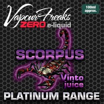 Vapour Freaks Platinum Range - Scorpus - 100ml - 0mg