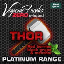 Vapour Freaks Platinum Range - Thor - 100ml - 0mg