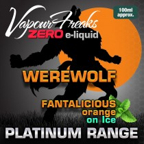 Vapour Freaks Platinum Range - Werewolf - 100ml - 0mg